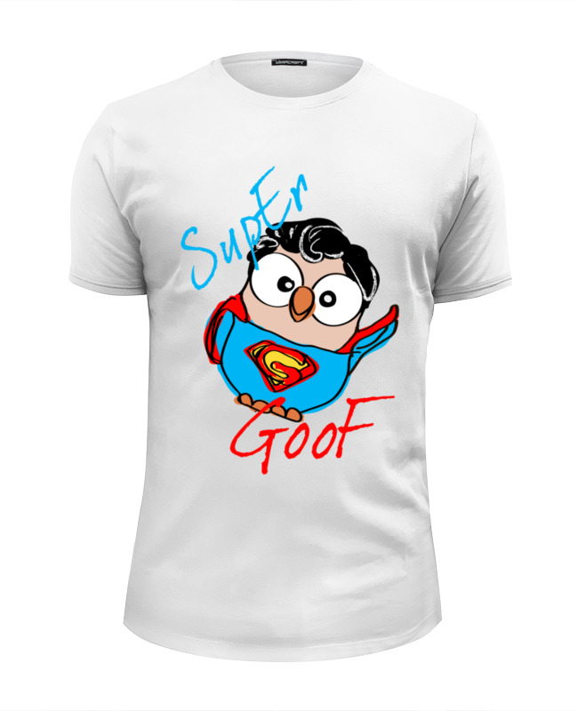 Printio Сова супермен суперсова goofi футболка wearcraft premium slim fit printio сова владимир путин суперсова goofi