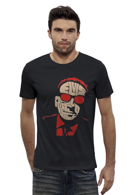 Футболка Wearcraft Premium Slim Fit Printio Elvis costello элвис костелло elvis costello taking liberties lp