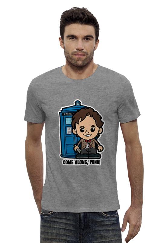 Футболка Wearcraft Premium Slim Fit Printio Time lord (доктор кто) футболка для беременных printio time lord доктор кто