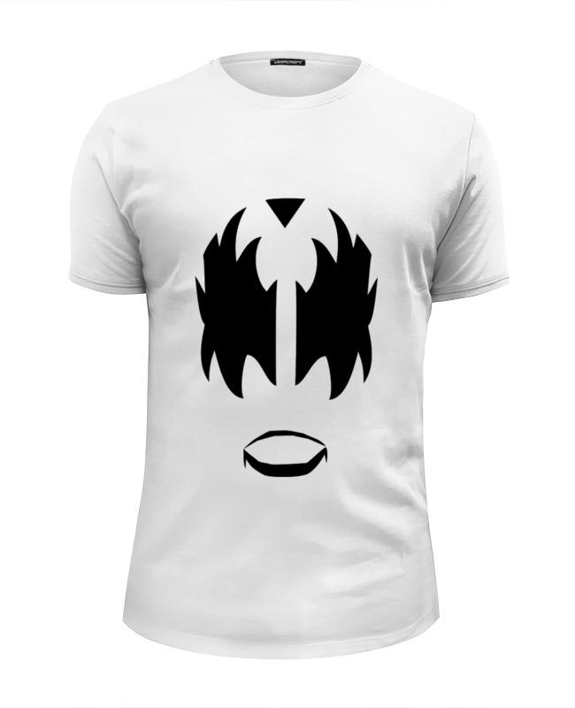 Футболка Wearcraft Premium Slim Fit Printio Kiss face футболка wearcraft premium slim fit printio face girl