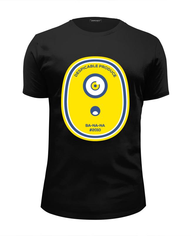 Футболка Wearcraft Premium Slim Fit Printio Миньон (banana) футболка wearcraft premium slim fit printio миньон