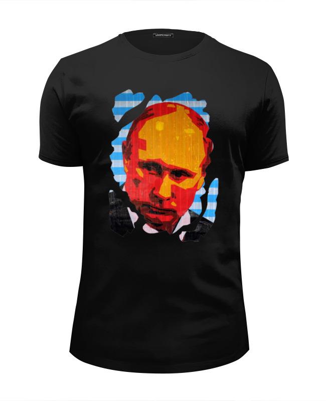 Футболка Wearcraft Premium Slim Fit Printio Putin футболка wearcraft premium slim fit printio putin mr president