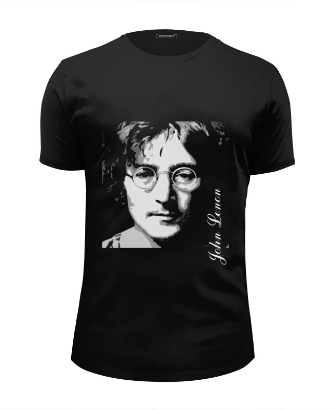 Футболка Wearcraft Premium Slim Fit Printio John lennon