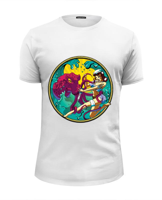 Футболка Wearcraft Premium Slim Fit Printio Octopus футболка wearcraft premium slim fit printio добро пожаловать