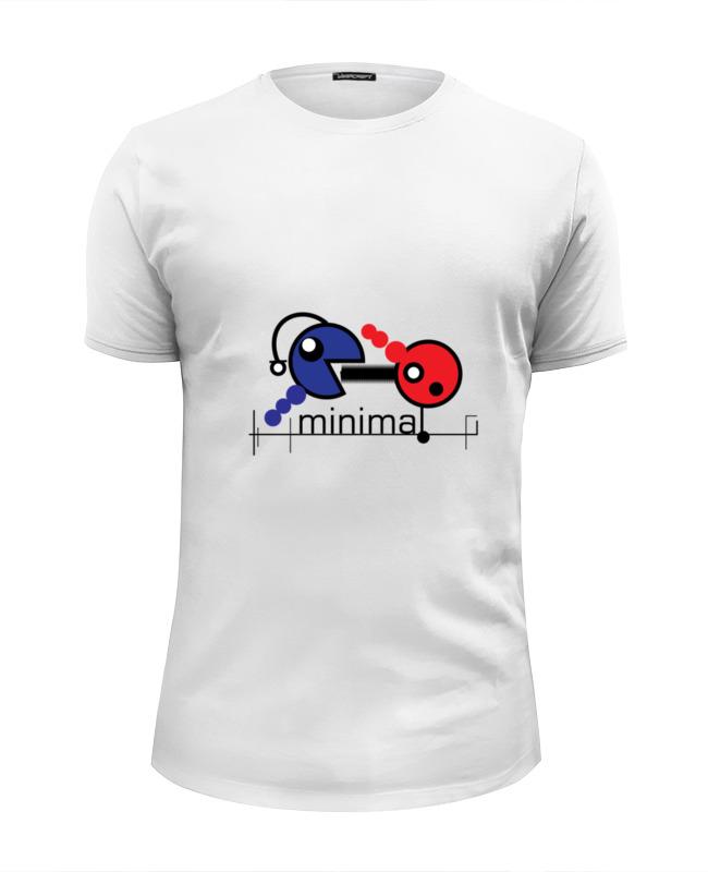 Printio Минимал футболка wearcraft premium slim fit printio минимал