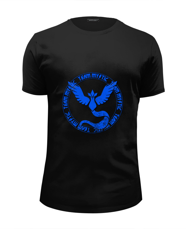 Футболка Wearcraft Premium Slim Fit Printio Team mystic футболка wearcraft premium printio team mystic