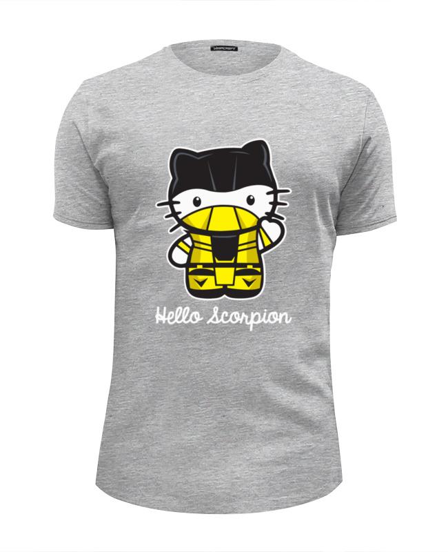 Printio Hello scorpion (mortal kombat) футболка wearcraft premium printio hello scorpion mortal kombat