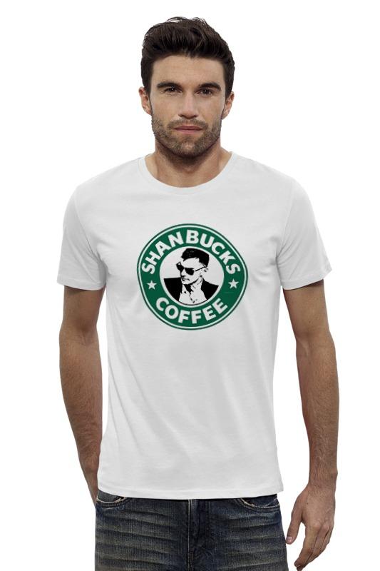 Футболка Wearcraft Premium Slim Fit Printio Shanbucks coffee футболка wearcraft premium slim fit printio coffee time время кофе