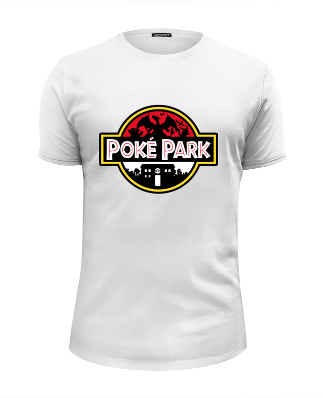 Printio Pokemon x jurassic park футболка wearcraft premium slim fit printio pokemon x jurassic park