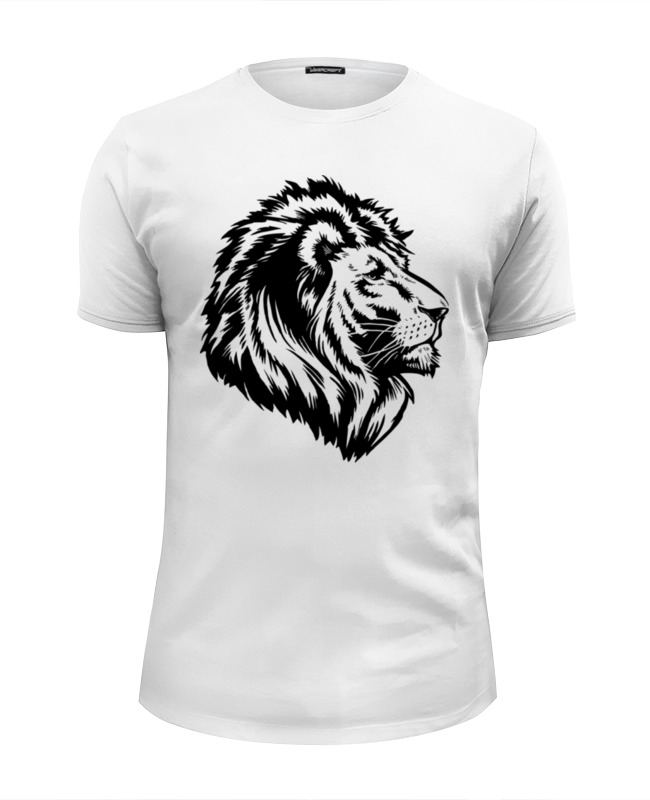 Футболка Wearcraft Premium Slim Fit Printio Proud lion oklick 895g hellfire black игровая мышь