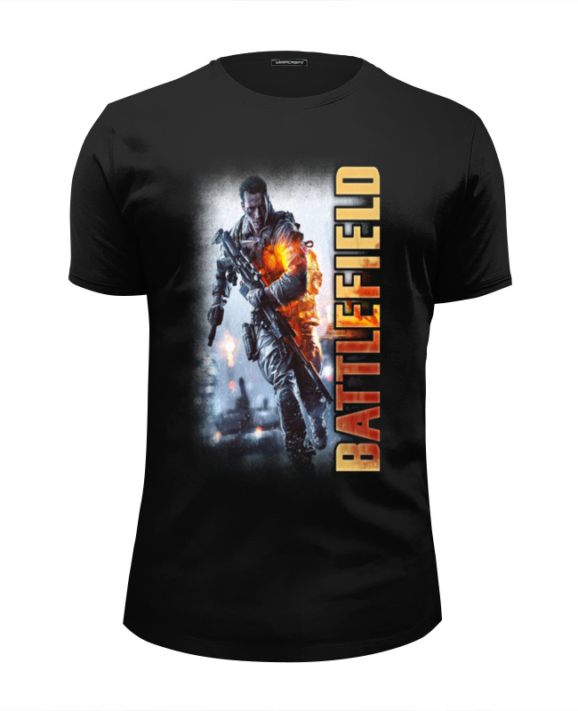Футболка Wearcraft Premium Slim Fit Printio Battlefield детский дартс battlefield soft 7 2cm