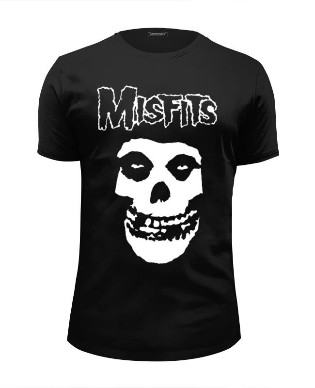 Футболка Wearcraft Premium Slim Fit Printio Misfits футболка wearcraft premium printio панк рок кафе