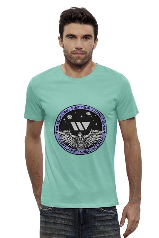 Футболка Wearcraft Premium Slim Fit Printio Weyland yutani corporation
