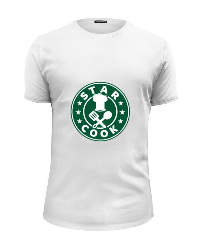 Футболка Wearcraft Premium Slim Fit Printio Звездный повар футболка wearcraft premium slim fit printio звездный повар