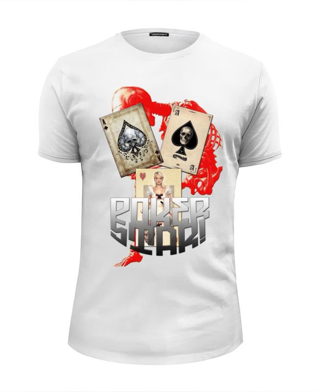 Футболка Wearcraft Premium Slim Fit Printio Звезда покера сумка printio звезда покера
