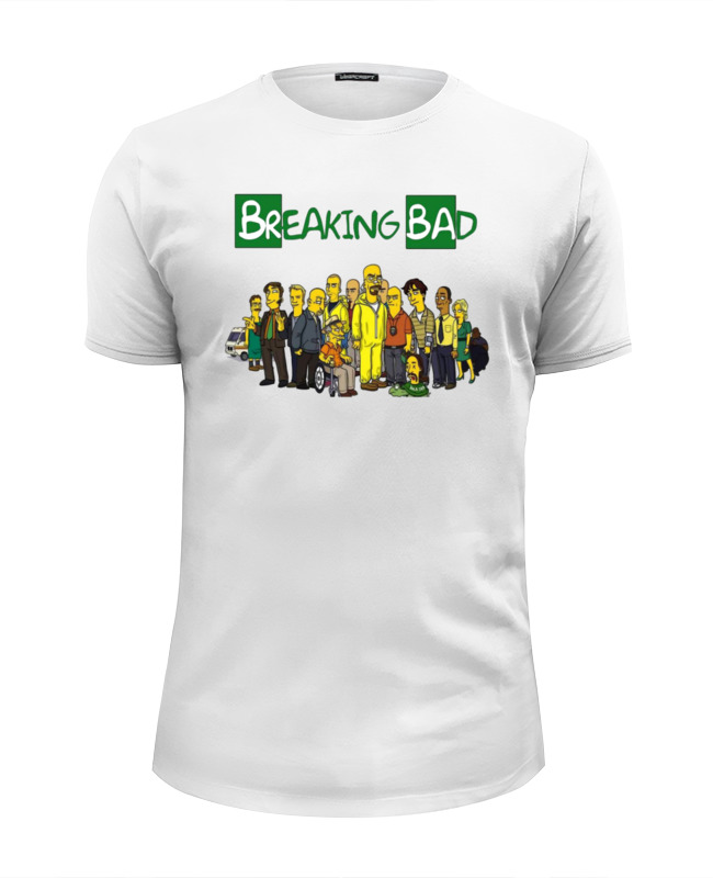 Футболка Wearcraft Premium Slim Fit Printio Breaking bad/во все тяжкие футболка wearcraft premium slim fit printio god of meth breaking bad