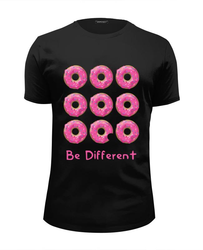 Футболка Wearcraft Premium Slim Fit Printio Пончики футболка wearcraft premium printio пончики donuts