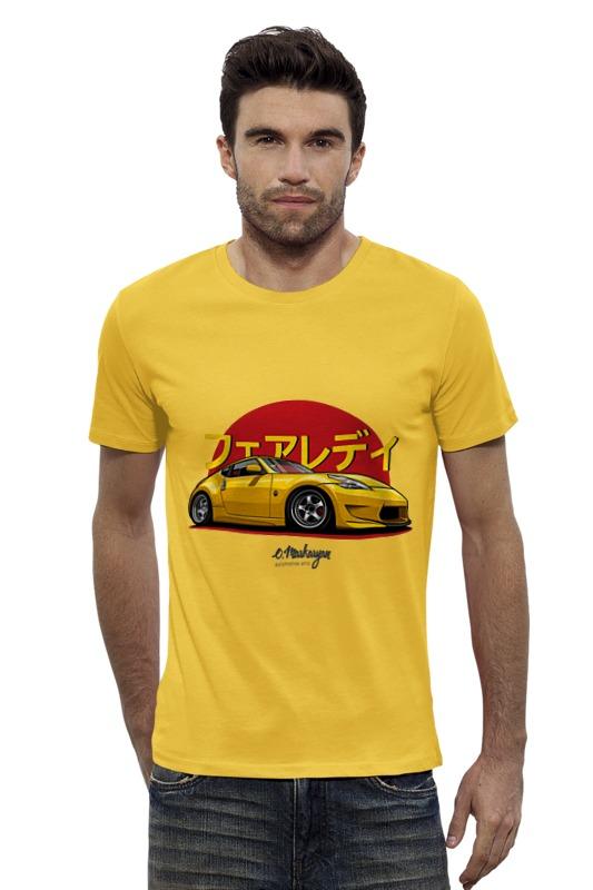Футболка Wearcraft Premium Slim Fit Printio Nissan 370z футболка wearcraft premium slim fit printio nissan skyline r34