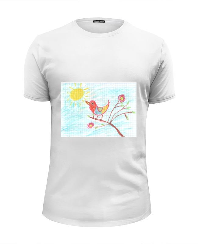 Фото - Printio Весёлая птичка футболка wearcraft premium slim fit printio этно птичка