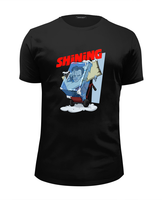 Футболка Wearcraft Premium Slim Fit Printio Сияние (the shining) футболка wearcraft premium printio джек николсон