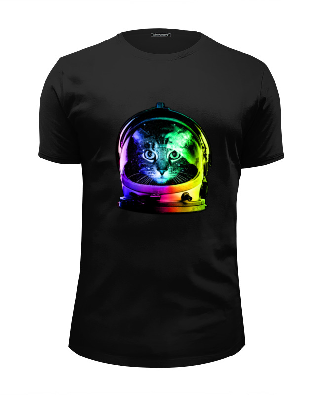 Футболка Wearcraft Premium Slim Fit Printio Astronaut cat футболка wearcraft premium slim fit printio cat life page 5 page 9