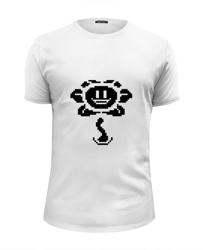 Футболка Wearcraft Premium Slim Fit Printio Цветок марио футболка wearcraft premium slim fit printio черный цветок
