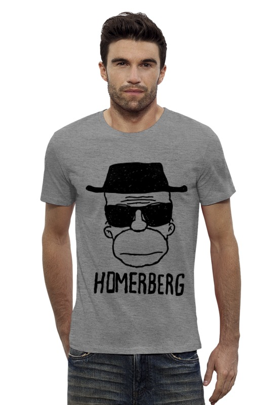 Футболка Wearcraft Premium Slim Fit Printio Homerberg футболка wearcraft premium slim fit printio avengers