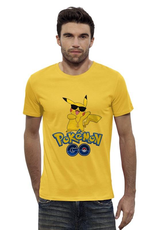 Футболка Wearcraft Premium Slim Fit Printio Pokemon go футболка wearcraft premium slim fit printio pokemon raichu