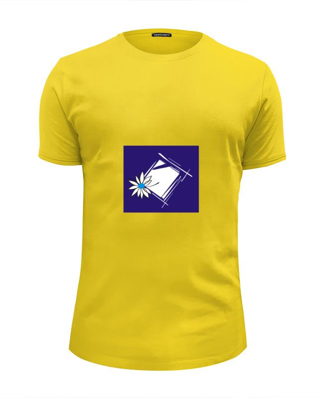 Футболка Wearcraft Premium Slim Fit Printio Ромашка в рам футболка wearcraft premium slim fit printio ромашка в рам