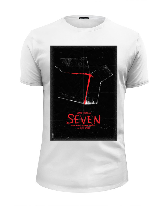 Футболка Wearcraft Premium Slim Fit Printio Семь / seven футболка wearcraft premium slim fit printio magnificent seven
