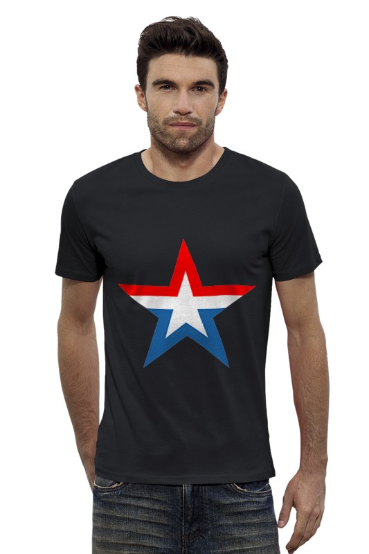 Футболка Wearcraft Premium Slim Fit Printio 23 февраля армия россии футболка wearcraft premium printio штаты россии