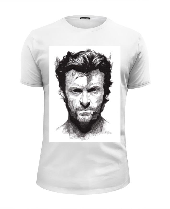 Футболка Wearcraft Premium Slim Fit Printio Росомаха футболка wearcraft premium slim fit printio боулинг