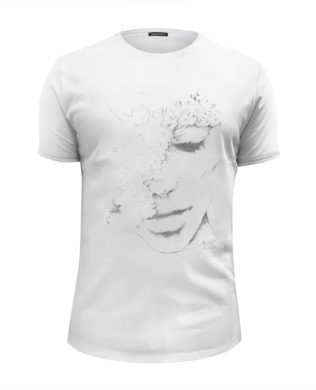 Футболка Wearcraft Premium Slim Fit Printio Face girl футболка wearcraft premium slim fit printio caferacer girl