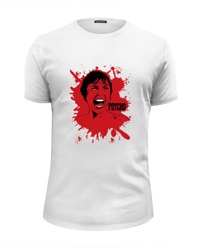 Футболка Wearcraft Premium Slim Fit Printio Психо (психоз) футболка классическая printio психо психоз