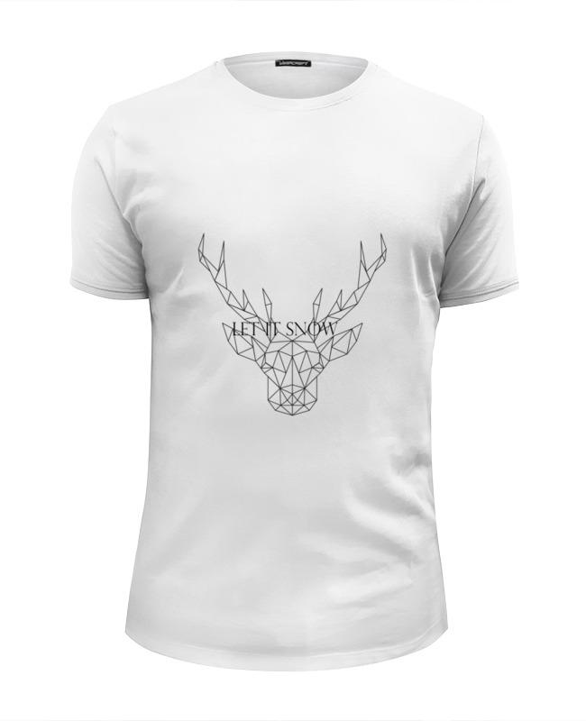 Футболка Wearcraft Premium Slim Fit Printio Dear deer футболка для беременных printio dear deer
