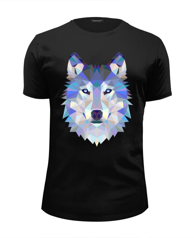 Футболка Wearcraft Premium Slim Fit Printio Wolf (волк) цена