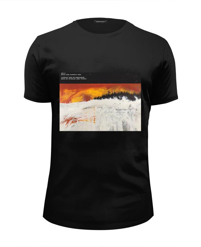 Футболка Wearcraft Premium Slim Fit Printio Radiohead kid a t-shirt black