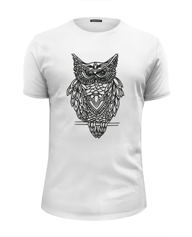 Футболка Wearcraft Premium Slim Fit Printio Совушка футболка wearcraft premium slim fit printio совушка