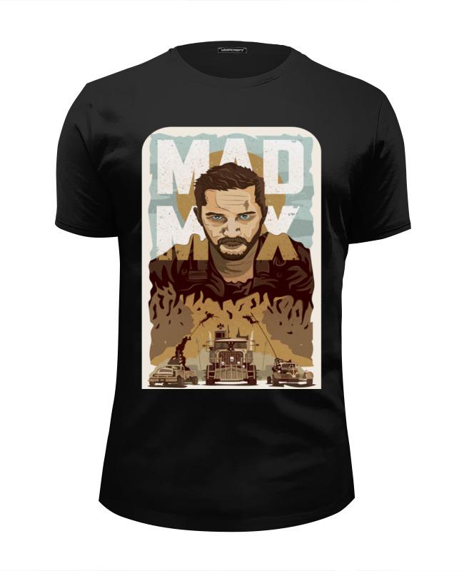 Printio Mad max футболка wearcraft premium slim fit printio max payne