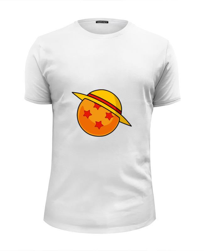 Футболка Wearcraft Premium Slim Fit Printio Соломенная шляпа (жемчуг дракона) футболка wearcraft premium slim fit printio дух дракона