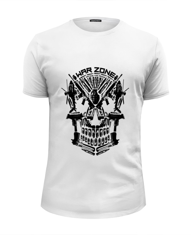 Футболка Wearcraft Premium Slim Fit Printio War zone футболка wearcraft premium slim fit printio gears of war