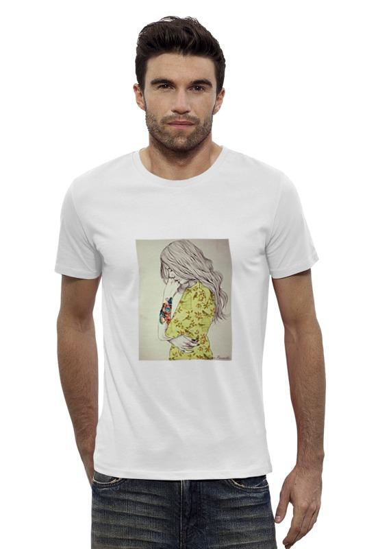 Футболка Wearcraft Premium Slim Fit Printio Девушка футболка wearcraft premium slim fit printio фенрир