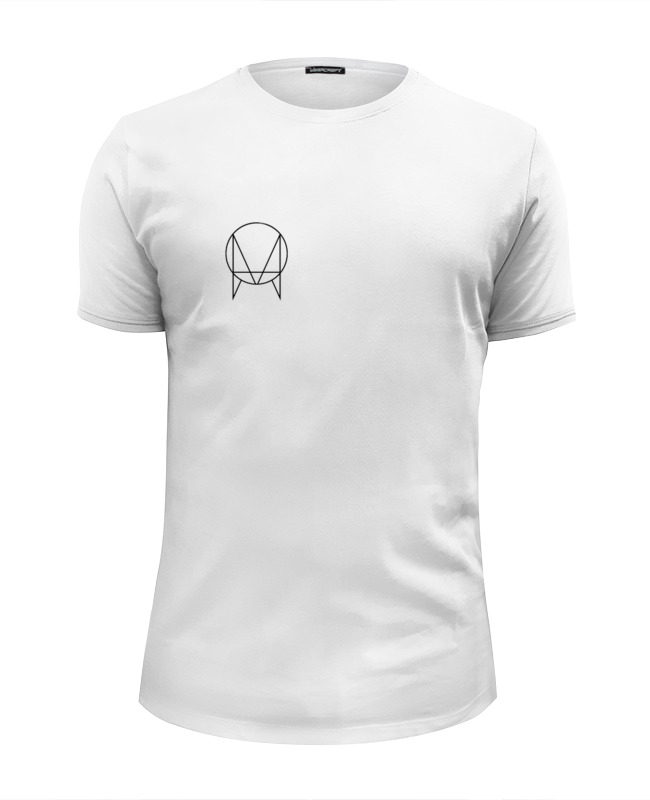 Футболка Wearcraft Premium Slim Fit Printio Owsla t-shirt jadefuture white