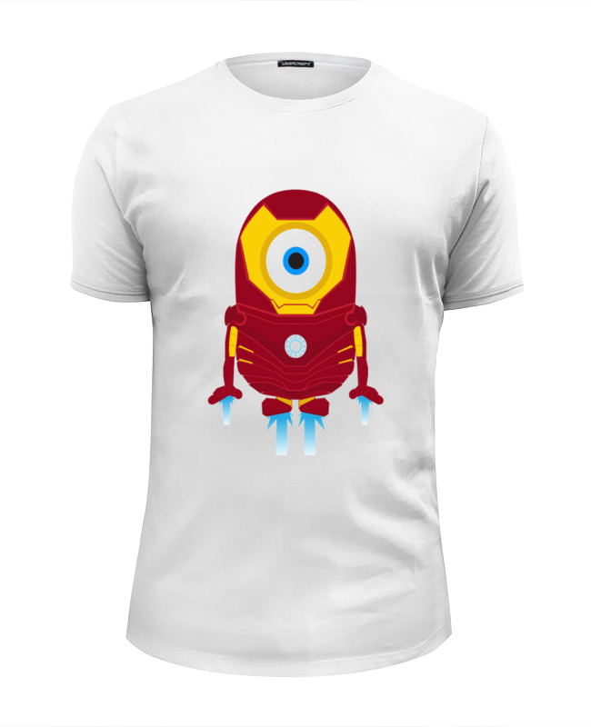 Футболка Wearcraft Premium Slim Fit Printio Iron minion футболка wearcraft premium slim fit printio minion bazzinga