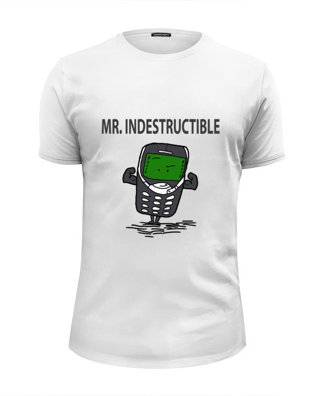 Футболка Wearcraft Premium Slim Fit Printio Мистер неубиваемый футболка wearcraft premium slim fit printio футболка мистер бин