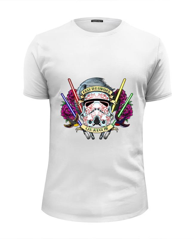 Футболка Wearcraft Premium Slim Fit Printio Only the emperor can judge me сумка emperor mk20380 2014