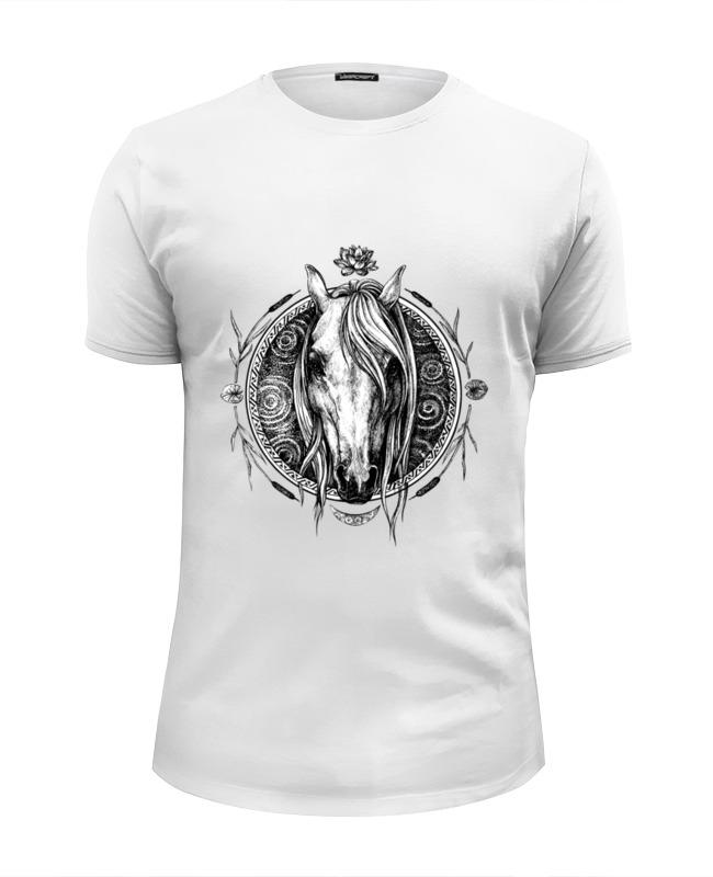Футболка Wearcraft Premium Slim Fit Printio Речная лошадь футболка стрэйч printio речная лошадь