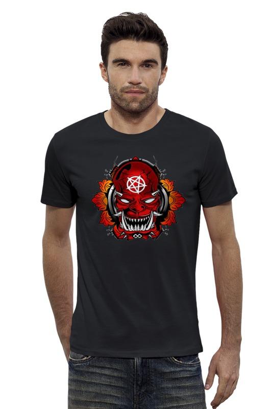 Футболка Wearcraft Premium Slim Fit Printio Devil r b parker s the devil wins