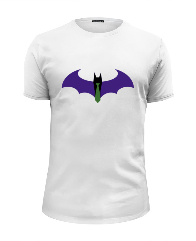 Футболка Wearcraft Premium Slim Fit Printio Batman x joker цена