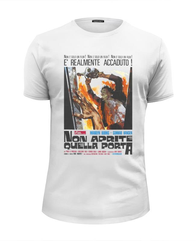Футболка Wearcraft Premium Slim Fit Printio Техасская резня бензопилой футболка wearcraft premium printio техасская резня бензопилой